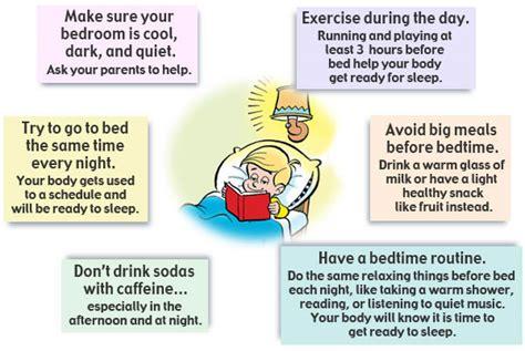 sleep tips sleep for teaching the importance