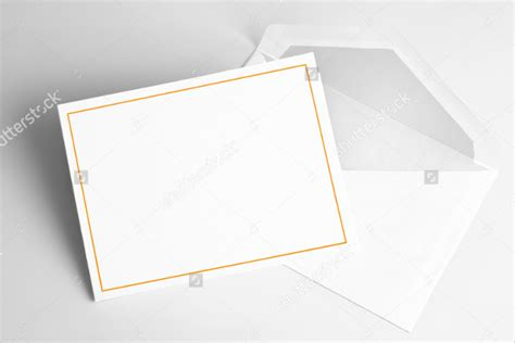 9 Blank Thank You Cards Free Sle Exle Format Free Premium Templates Blank Thank You Card Template