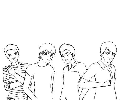 free coloring pages of big time rush