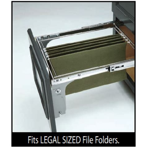 Kitchen Drawer Systems by Rev A Shelf Pull Out File Drawer System For Kitchen Or