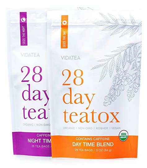Organic Detox Tea Weight Loss by 28 Day And Detox Tea Teatox 56 Tea Bags