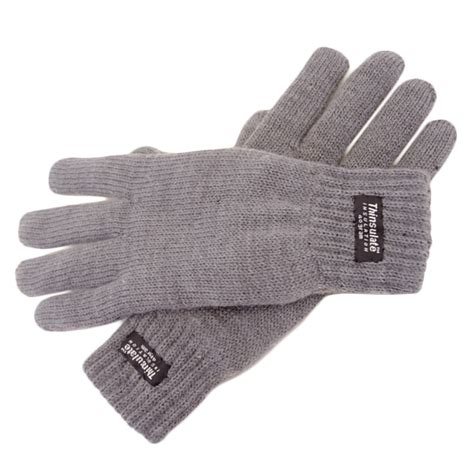 10 Warm Winter Accessories by Stretch Knitted Warm Winter Gloves Thinsulate