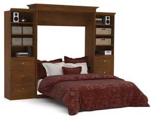 wall bed and storage units with drawers in tuscany
