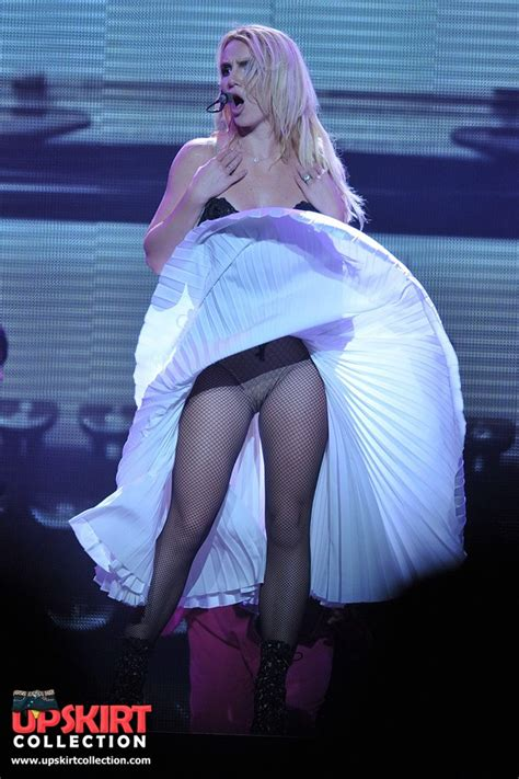 Singer On Stage Upskirt