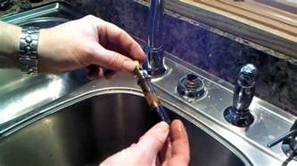 How To Replace Kitchen Faucets moen kitchen faucet 1225 cartridge repair or replacement