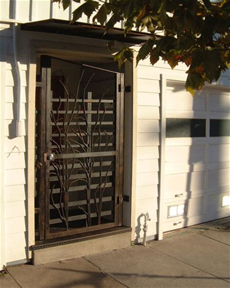 security gate for front door gates custom welding metalwork san francisco by tuesday