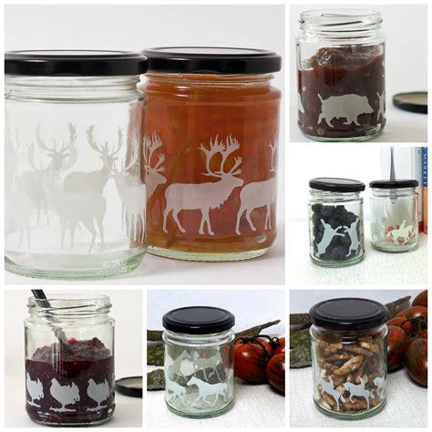 Handmade Jars - aiga ginta animal glass silhouette jars gift