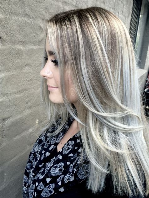 silver highlighted hair styles ash blonde hair with silver highlights 2016 google