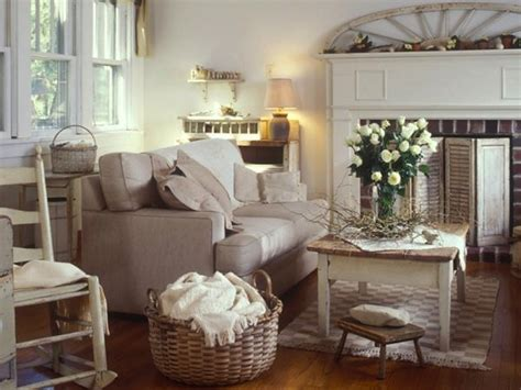Camino Country Chic by Foto Salotto Con Camino Shabby Chic 345962 Habitissimo