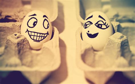 egg love funny faces happy easter widescreen wallpaper