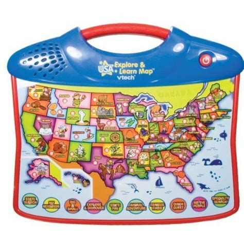 vtech usa explore and learn map the world s catalog of ideas