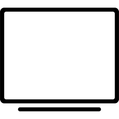 Tv Outline Png by Computer Desktop Display Monitor Screen Television Tv Icon Icon Search Engine