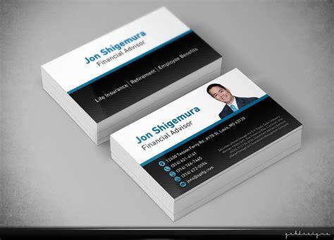 Business Card Design For Investment Advisor