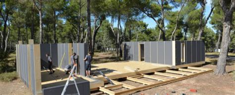pop up house cost pop up house un concept de maison passive pr 233 fabriqu 233 e