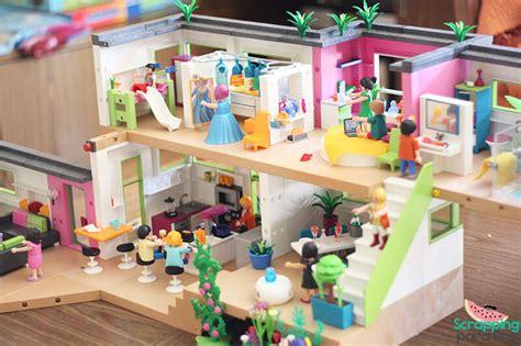 playmobil casa scrapping para dos mansi 243 n moderna de lujo playmobil