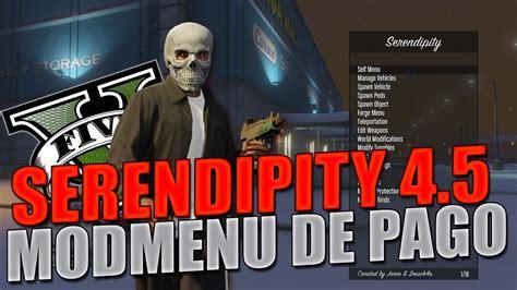 nuevo mod menu de gta v de pago youtube nuevo mod menu de pago serendipity 4 5 161 el mejor mod menu
