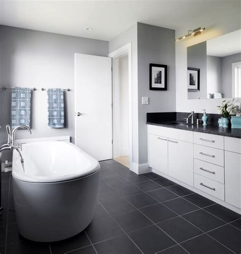 Grey And Blue Bathroom Ideas by 22 Stylish Grey Bathroom Designs Decorating Ideas