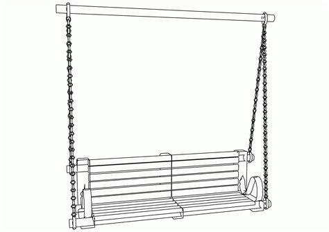 swing color swing coloring page coloring home