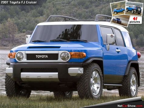 Toyota Fj Cruiser Specs 2007 Toyota Fj Cruiser Pictures Information And Specs