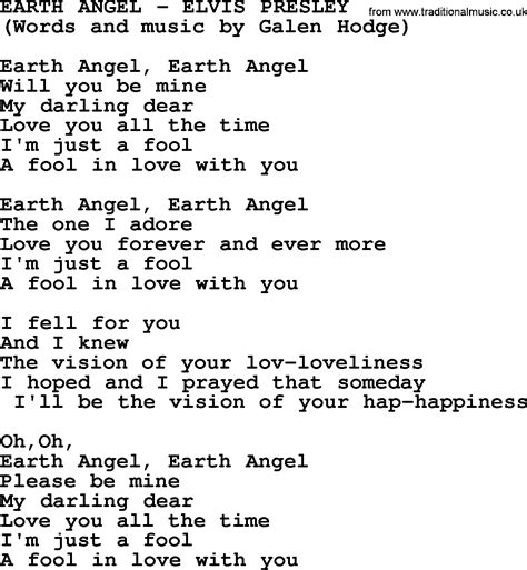 angle song gallery for gt earth angel the penguins lyrics