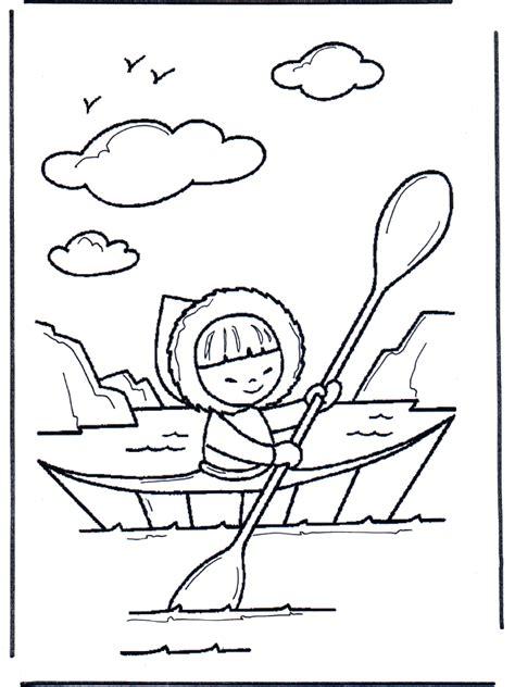 esquimal en canoa otros