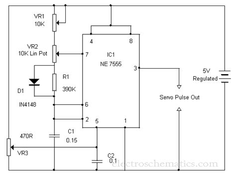 rc servo motor circuit servo motor circuit page 4 automation circuits next gr