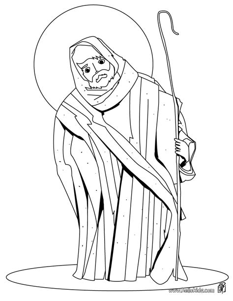 coloring pages st joseph table coloring pages
