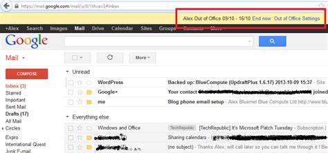 Out Of Office Gmail by Set Up An Out Of Office Message In Apps Bluecompute
