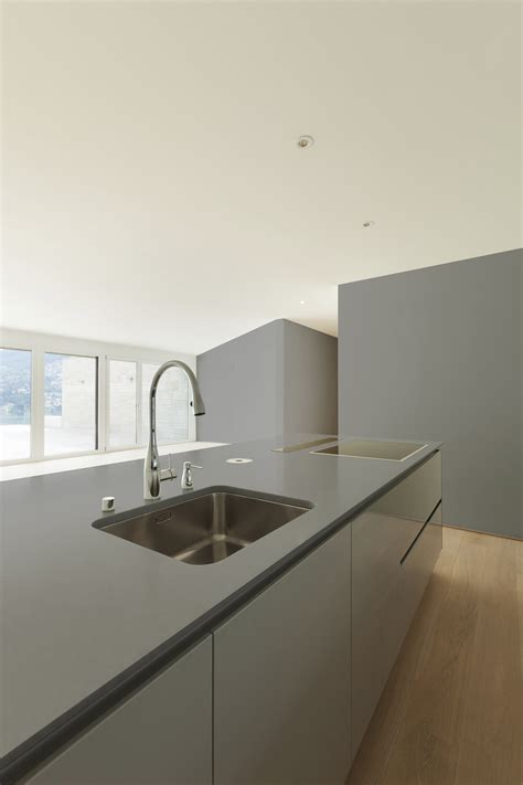 Concrete Kitchen Design by Spring Collection Dekton By Cosentino