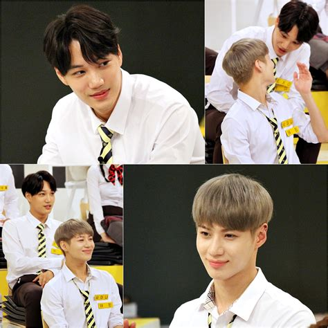 exo happy together shinee s taemin and exo s kai show off close friendship