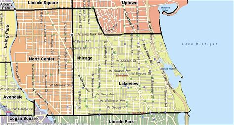 chicago map lakeview lakeview chicago real estate homes for sale