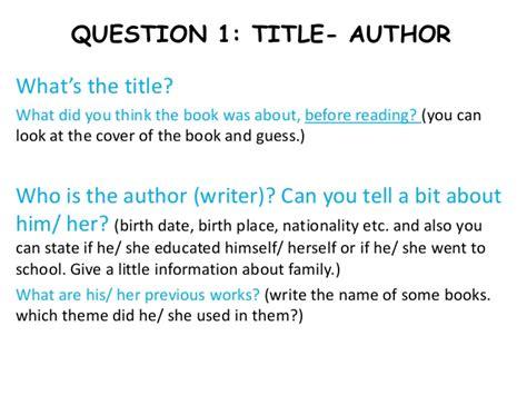 how do you make a book report how do you write a book report