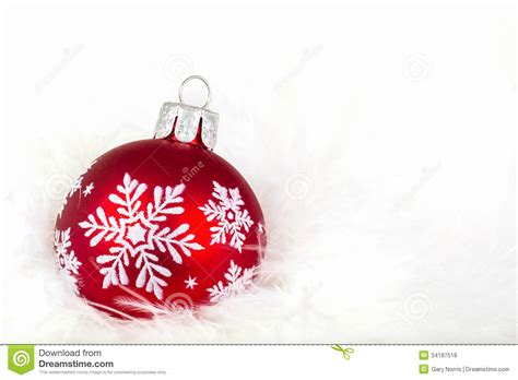 snowflake christmas ornament royalty free stock photos