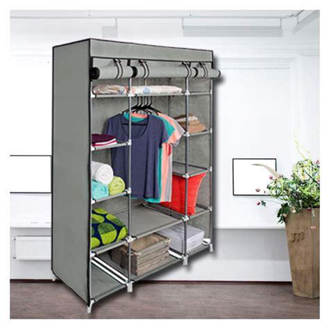 Portable Closet by 53 Portable Closet Storage Organizer Wardrobe Clothes