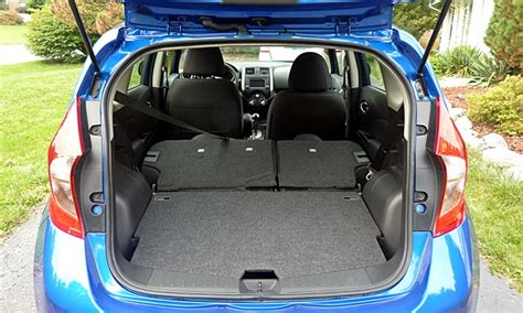 nissan tiida trunk space nissan note cargo space