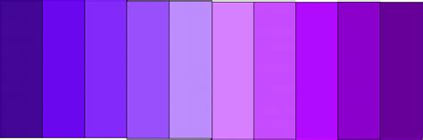 shades of purple chart shades of purple paint chart www imgkid com the image