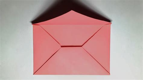 How To Make A Paper Envelope Without Glue - paper envelope how to make a paper envelope without glue