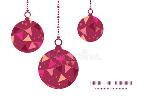 card ornament template vector decorations flags ornaments stock vector