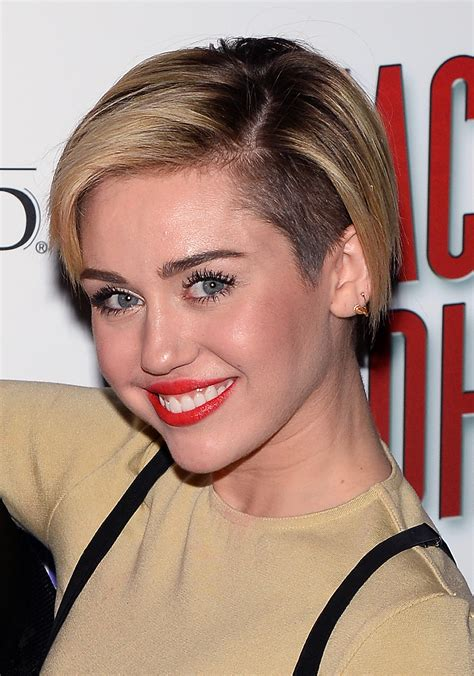Grow Milley Miley Cyrus Grows Out Pixie Haircut High