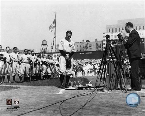 Sle Of Farewell Speech baseball player lou gehrig farewell speech photo print for