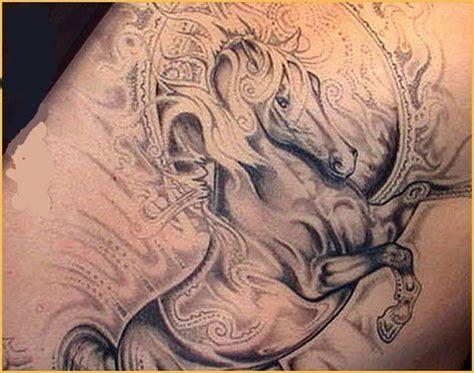 animal tattoo database carousel horse tattoo google search tattoos