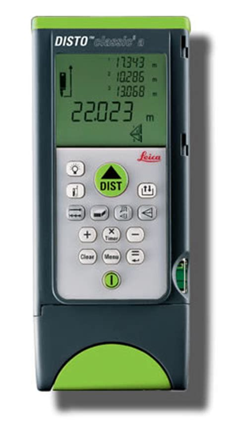 leica disto classic 5a laser distance measure