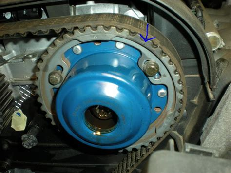 volvo xc  turbo  process  replacing  timing belt  scheduled maint