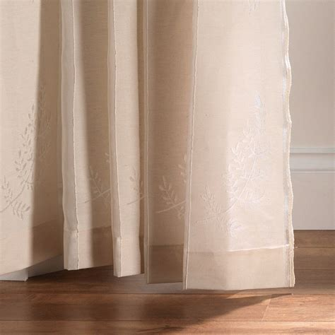 drapes direct fern polar white madras fabric only from net curtains direct