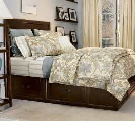 Platform Bed With Storage Pottery Barn Stratton Platform Bed With Underneath Storage From Pottery