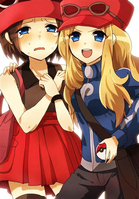 Meme And Neko Sex Tape - pokemon calem serena anime and games pinterest anime pokemon and outfit