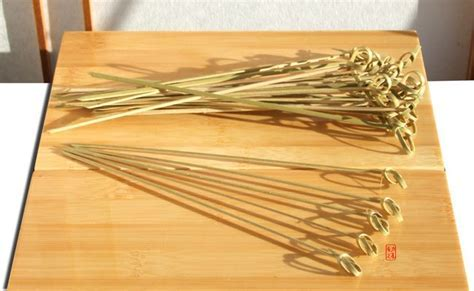 Cocktail sticks Japanese style bamboo sword 20cm X 100   GOTO