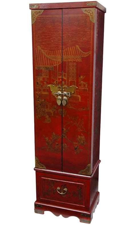 asian jewelry armoire amazon com oriental furniture oriental furnishings and