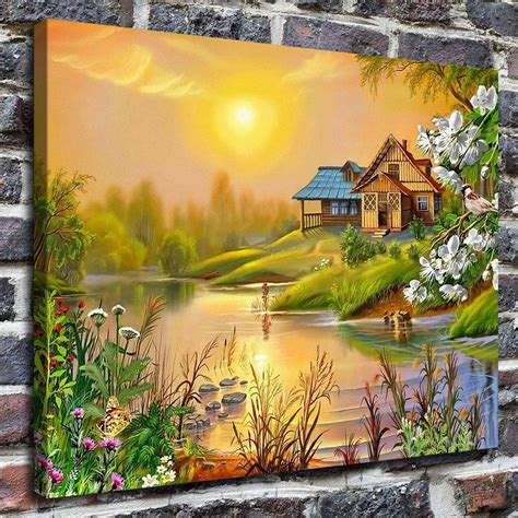 paintings home decor beautiful scenery hd canvas print home decor paintings