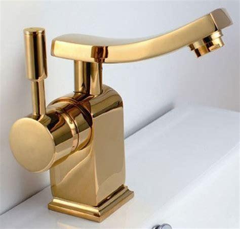 rubinetto moderno bagno lavabo miscelatore monocomando rubinetto moderno oro